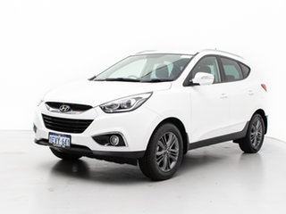 2015 Hyundai ix35 LM Series II SE (FWD) White 6 Speed Automatic Wagon.