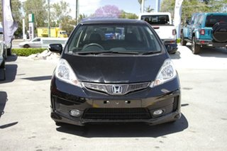 2012 Honda Jazz GE MY12 Vibe-S Black 5 Speed Automatic Hatchback