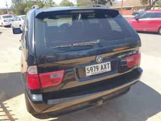 2003 BMW X5 E53 d Steptronic Black 5 Speed Sports Automatic Wagon.