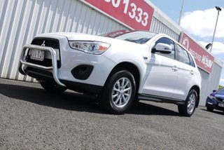 2013 Mitsubishi ASX XB MY13 White 6 Speed Sports Automatic Wagon.