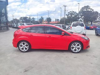 2013 Ford Focus LW MkII ST Red 6 Speed Manual Hatchback.