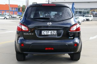 2013 Nissan Dualis J10 MY13 +2 TI-L (4x4) Black 6 Speed CVT Auto Sequential Wagon