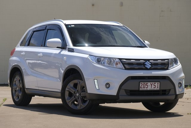 Used Suzuki Vitara LY RT-S 2WD, 2015 Suzuki Vitara LY RT-S 2WD White 6 Speed Sports Automatic Wagon
