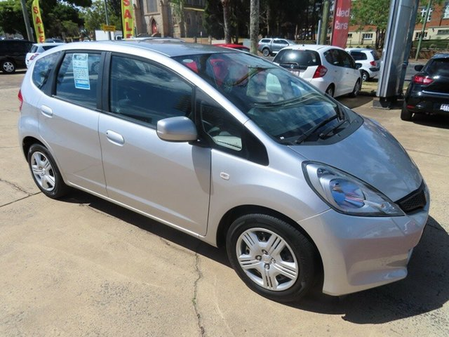 Used Honda Jazz GLi Toowoomba, 2012 Honda Jazz GLi Silver 5 Speed Manual Hatchback