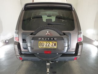 2012 Mitsubishi Pajero NW MY13 VR-X Brown 5 Speed Sports Automatic Wagon