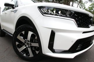 2020 Kia Sorento MQ4 MY21 Sport Snow White Pearl 8 Speed Sports Automatic Wagon