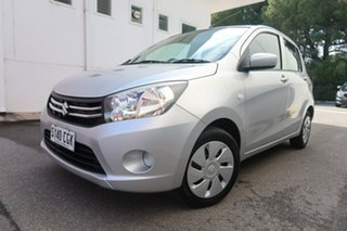 2015 Suzuki Celerio LF Silver 5 Speed Manual Hatchback.
