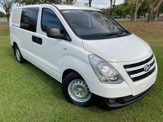 2018 Hyundai iLOAD TQ3-V Series II MY18 Crew Cab Creamy White 5 Speed Automatic Van.