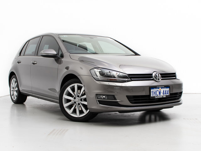 Used Volkswagen Golf AU MY17 110 TSI Highline, 2017 Volkswagen Golf AU MY17 110 TSI Highline Grey 7 Speed Auto Direct Shift Hatchback