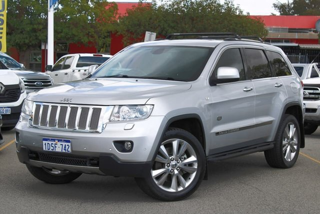 Used Jeep Grand Cherokee WK MY2011 Limited 70th Anniversary, 2011 Jeep Grand Cherokee WK MY2011 Limited 70th Anniversary Silver 5 Speed Sports Automatic Wagon