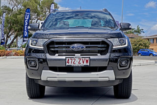2020 Ford Ranger PX MkIII 2020.25MY Wildtrak Shadow Black 10 Speed Sports Automatic.