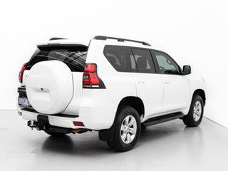 2019 Toyota Landcruiser Prado GDJ150R MY18 GXL (4x4) White 6 Speed Automatic Wagon