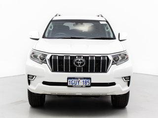 2019 Toyota Landcruiser Prado GDJ150R MY18 GXL (4x4) White 6 Speed Automatic Wagon.