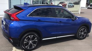 2018 Mitsubishi Eclipse Cross YA MY18 Exceed 2WD Blue 8 Speed Constant Variable Wagon
