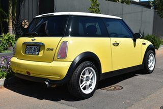 2004 Mini Hatch R50 MY03 Cooper Yellow 6 Speed Constant Variable Hatchback