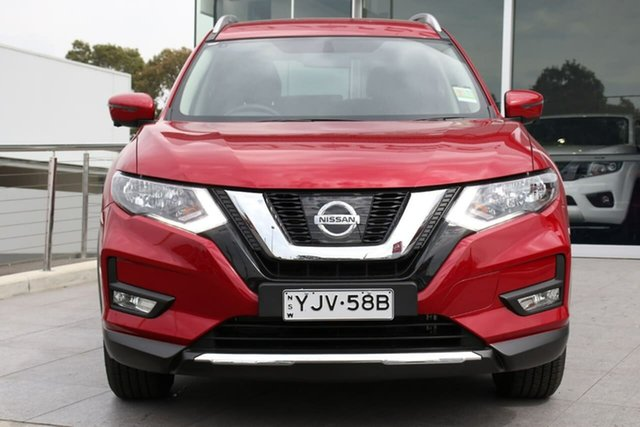 Demo Nissan X-Trail T32 Series II ST-L X-tronic 2WD, 2020 Nissan X-Trail T32 Series II ST-L X-tronic 2WD Ruby Red 7 Speed Constant Variable Wagon