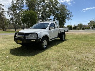 2015 Holden Colorado RG MY15 LS White 6 Speed Manual Cab Chassis.