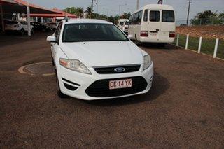 2010 Ford Mondeo MB MY11 LX PwrShift TDCi White 6 Speed Auto Wagon.