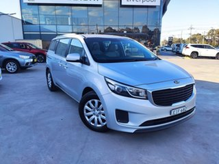 2017 Kia Carnival YP MY17 S Silver 6 Speed Sports Automatic Wagon.
