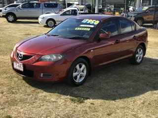 2008 Mazda 3 BK10F2 Maxx Bronze 5 Speed Manual Sedan.