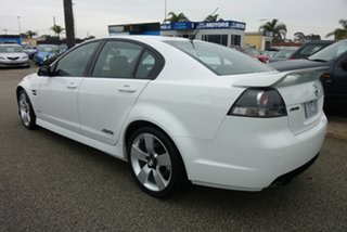 2010 Holden Commodore VE MY10 SS V White 6 Speed Sports Automatic Sedan.