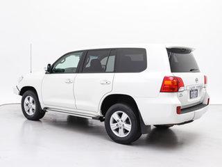 2014 Toyota Landcruiser VDJ200R Altitude (4x4) White 6 Speed Automatic Wagon