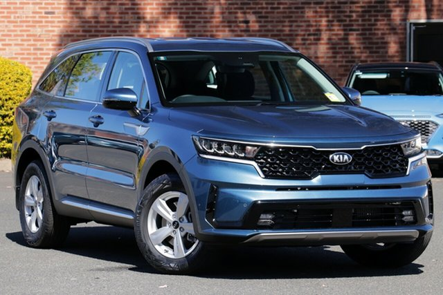 New Kia Sorento MQ4 MY21 S AWD Bundamba, 2020 Kia Sorento MQ4 MY21 S AWD Mineral Blue 8 Speed Sports Automatic Dual Clutch Wagon