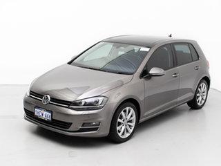 2017 Volkswagen Golf AU MY17 110 TSI Highline Grey 7 Speed Auto Direct Shift Hatchback
