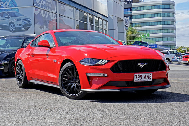 Used Ford Mustang FN 2019MY GT, 2018 Ford Mustang FN 2019MY GT Race Red 10 Speed Sports Automatic Fastback