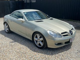 2007 Mercedes-Benz SLK350 R171 07 Upgrade Silver 7 Speed Automatic G-Tronic Convertible