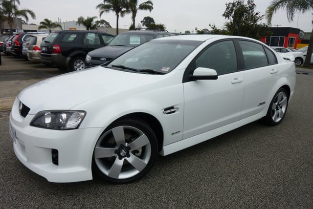 Used Holden Commodore VE MY10 SS V, 2010 Holden Commodore VE MY10 SS V White 6 Speed Sports Automatic Sedan