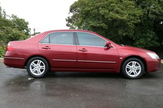 2006 Honda Accord 7th Gen MY06 VTi Royal Ruby Red 5 Speed Automatic Sedan