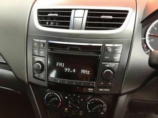 2011 Suzuki Swift FZ GA Orange 5 Speed Manual Hatchback
