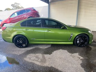 2015 Holden Commodore VF MY15 SS V Redline Green 6 Speed Sports Automatic Sedan.