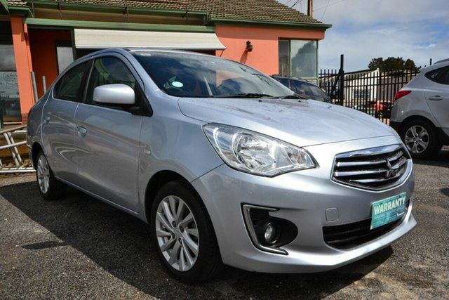 Used Mitsubishi Mirage LA ES Blair Athol, 2014 Mitsubishi Mirage LA ES Silver Continuous Variable Sedan