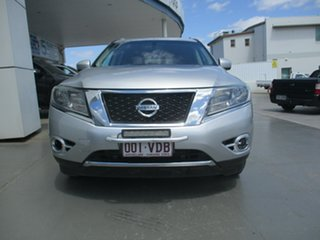 2013 Nissan Pathfinder R52 ST-L (4x4) Silver Continuous Variable Wagon