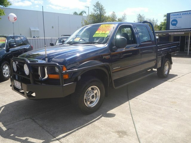 Used Ford F250 RN XLT, 2004 Ford F250 RN XLT Blue 4 Speed Automatic Utility