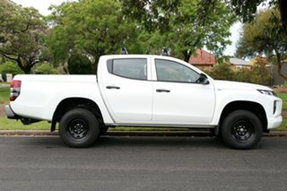 2019 Mitsubishi Triton MR MY19 GLX Double Cab ADAS White 6 Speed Sports Automatic Utility