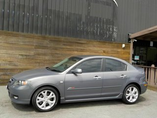 2008 Mazda 3 BK1032 SP23 Grey 5 Speed Sports Automatic Sedan