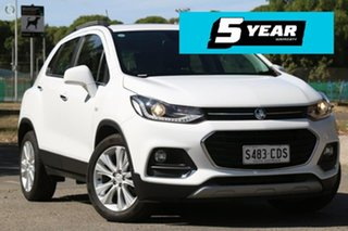 2018 Holden Trax TJ MY18 LT White 6 Speed Automatic Wagon.
