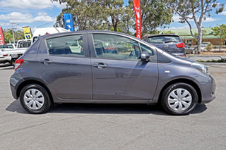 2012 Toyota Yaris NCP130R YR Magnetic Grey 5 Speed Manual Hatchback