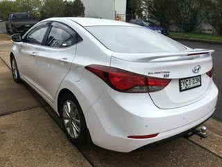 2015 Hyundai Elantra MD3 SE White Sports Automatic