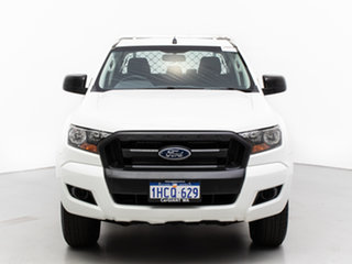 2016 Ford Ranger PX MkII XL 2.2 (4x4) White 6 Speed Manual Crew Cab Chassis.