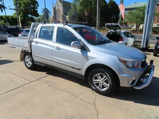 2013 Ssangyong Actyon Sports SX Silver Automatic Utility.
