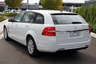 2015 Holden Commodore White Wagon.