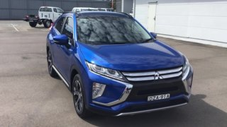 2018 Mitsubishi Eclipse Cross YA MY18 Exceed 2WD Blue 8 Speed Constant Variable Wagon.