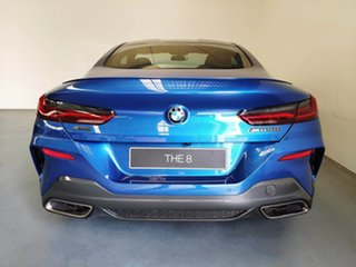2020 BMW 8 Series G15 M850i xDrive Steptronic AWD Sonic Speed Blue 8 Speed Sports Automatic Coupe