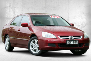2006 Honda Accord 7th Gen MY06 VTi Royal Ruby Red 5 Speed Automatic Sedan.