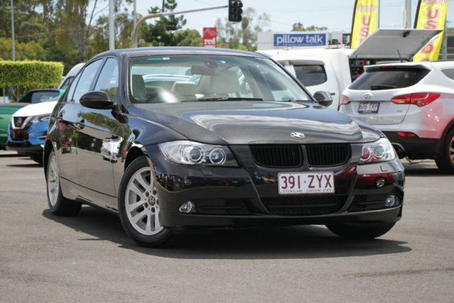 Used BMW 3 Series E90 320d Steptronic, 2007 BMW 3 Series E90 320d Steptronic Black 6 Speed Sports Automatic Sedan