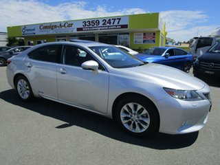 2013 Lexus ES AVV60R ES300h Sports Luxury Silver 1 Speed Constant Variable Sedan Hybrid.